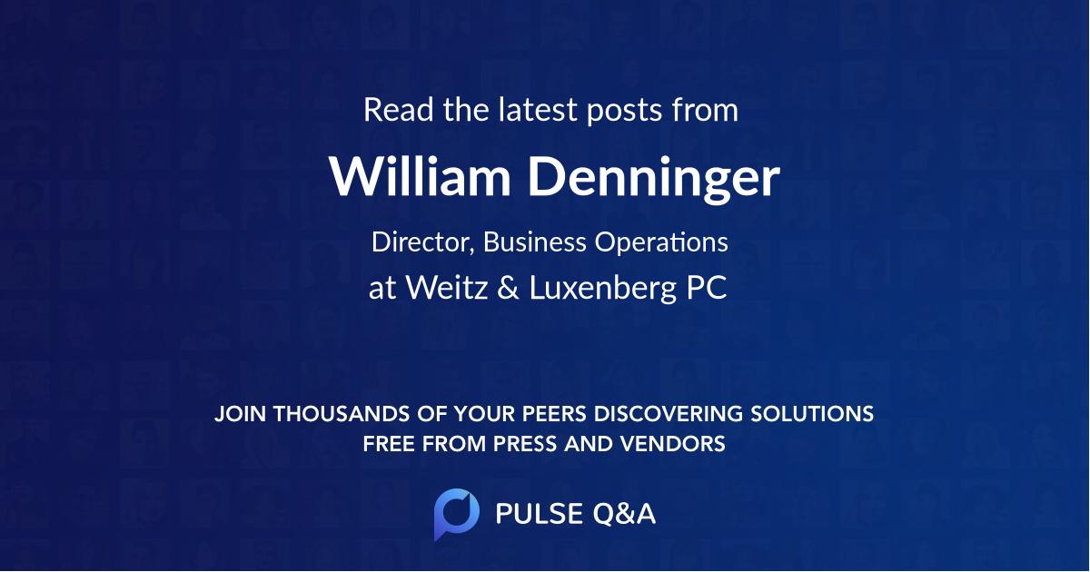 William Denninger