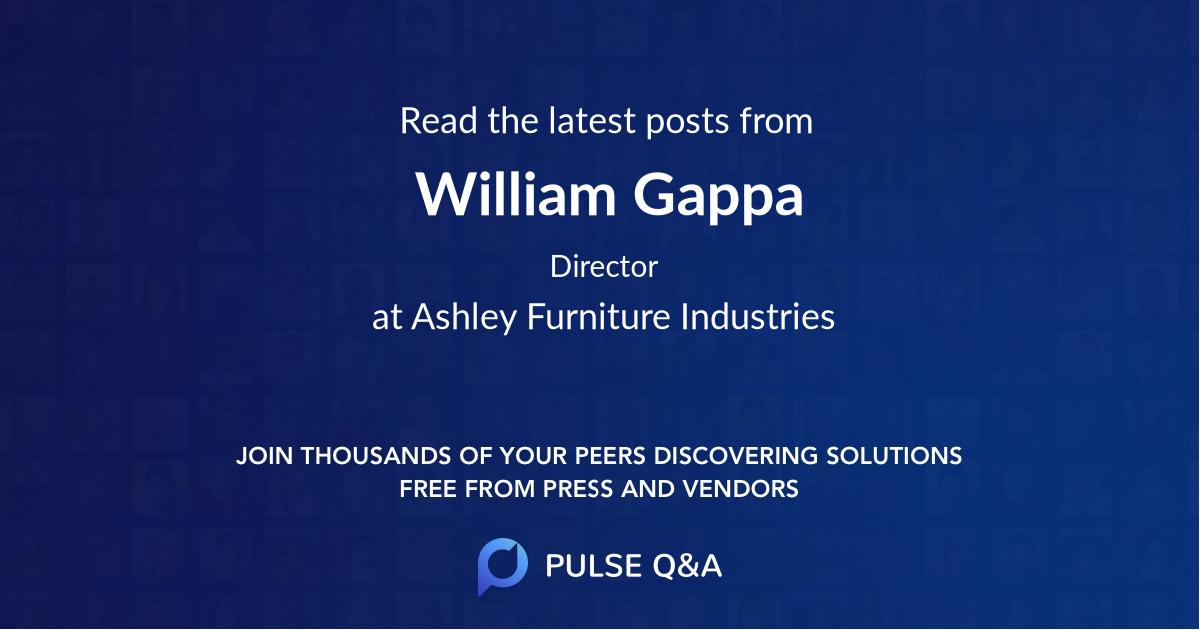 William Gappa