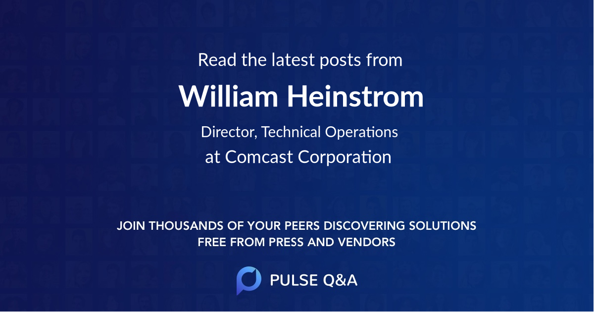 William Heinstrom