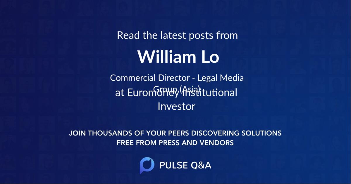William Lo