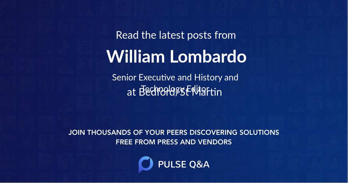 William Lombardo