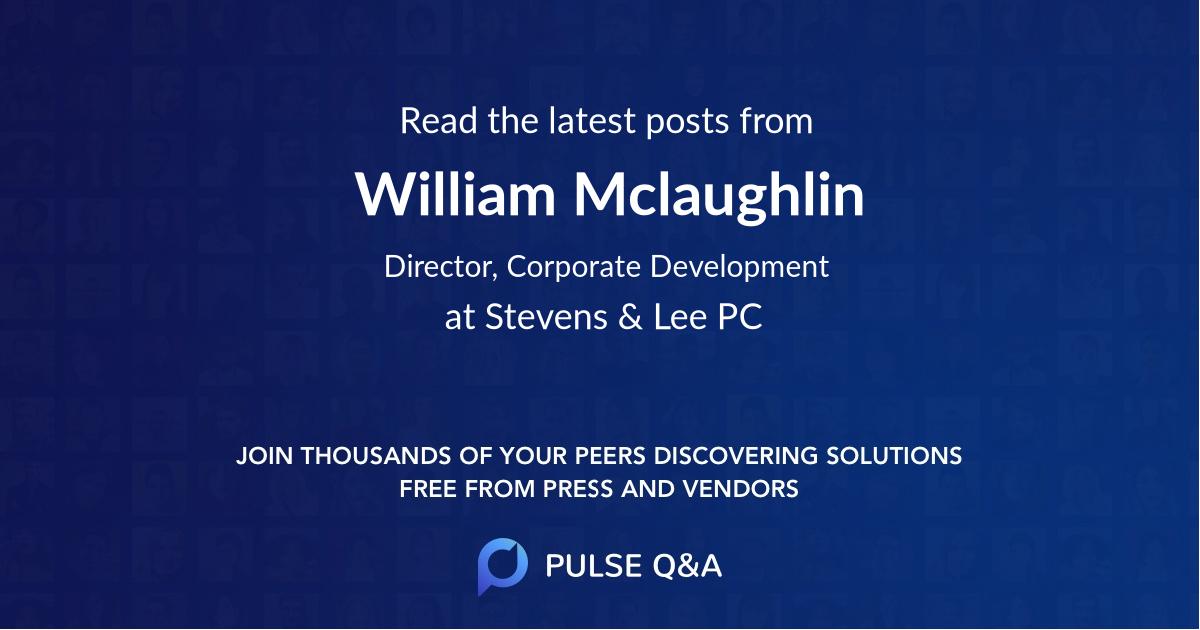William Mclaughlin