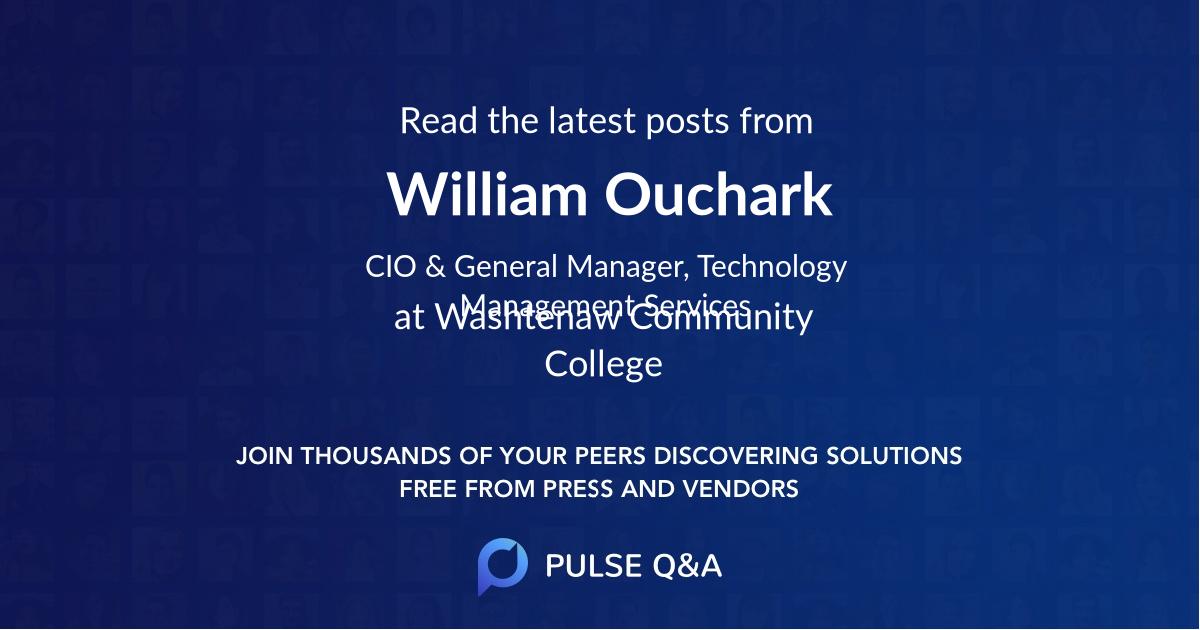 William Ouchark