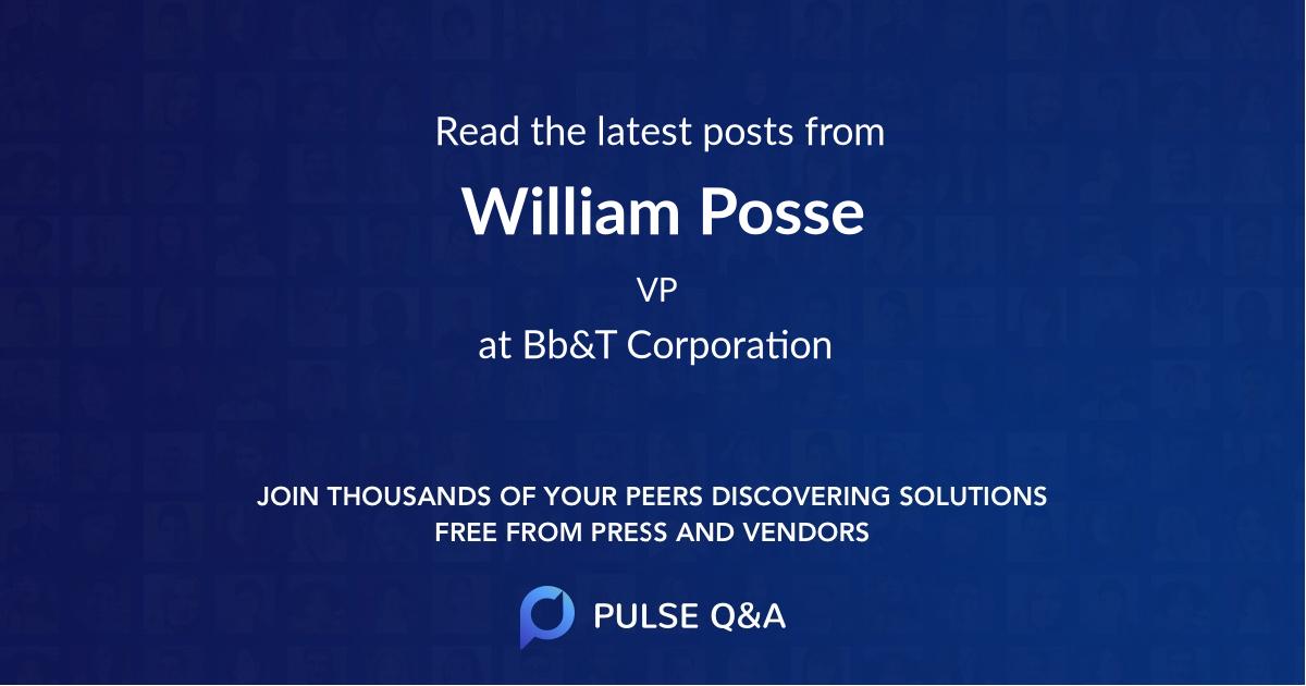 William Posse