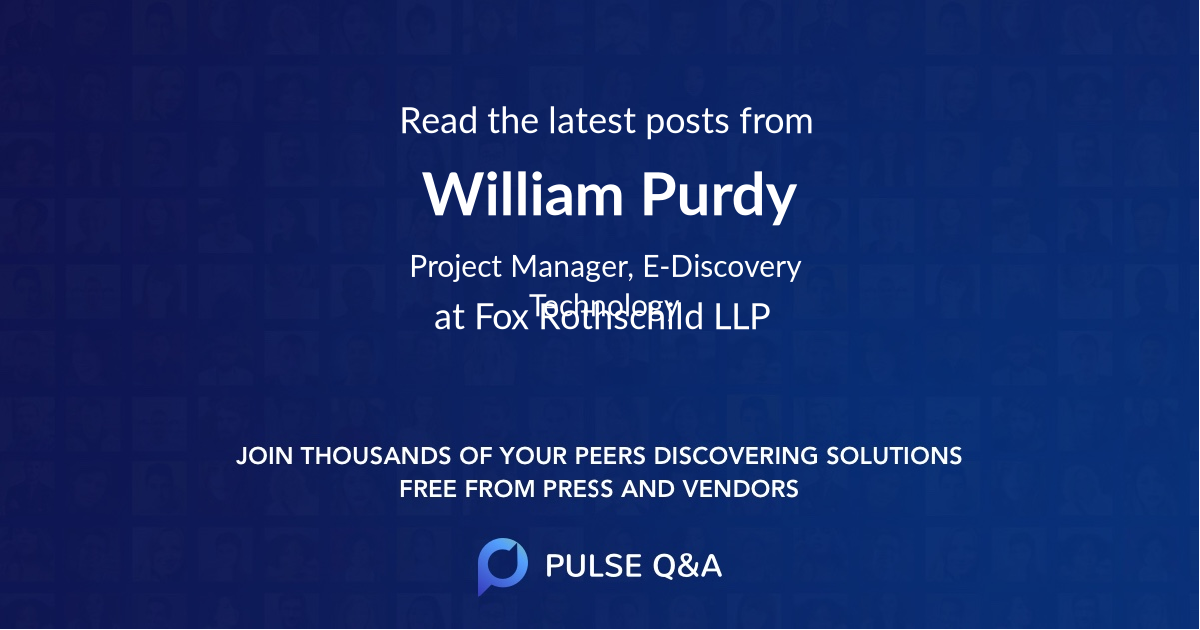 William Purdy