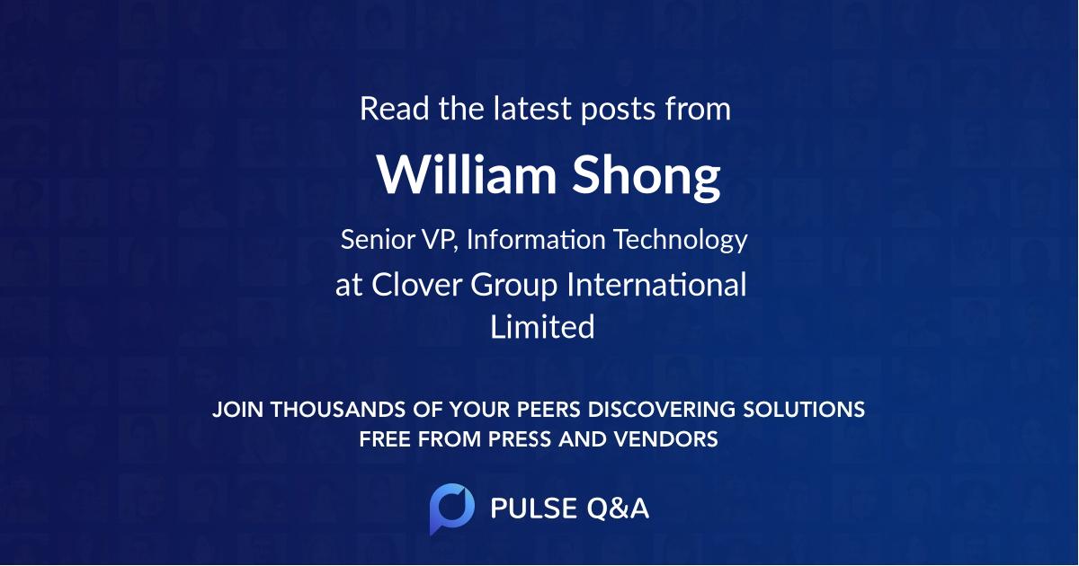 William Shong
