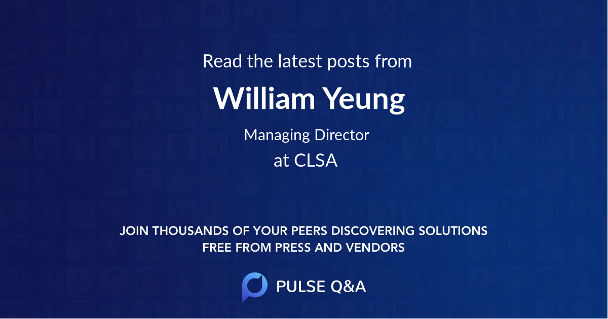 William Yeung