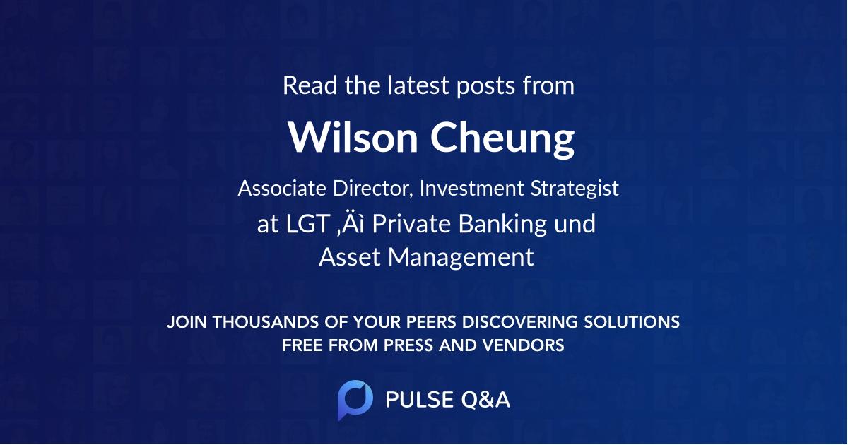 Wilson Cheung