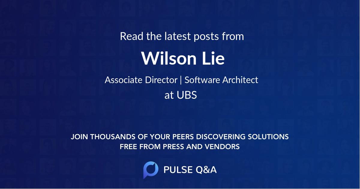 Wilson Lie