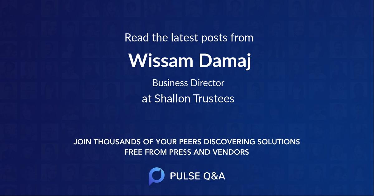 Wissam Damaj