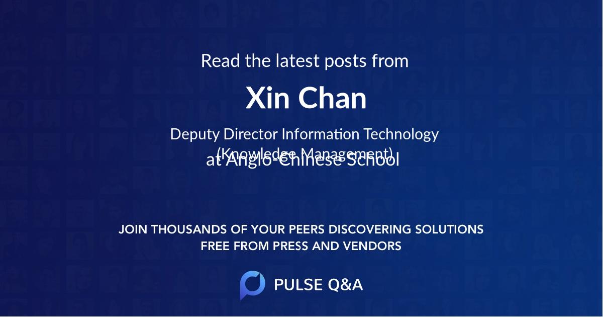 Xin Chan