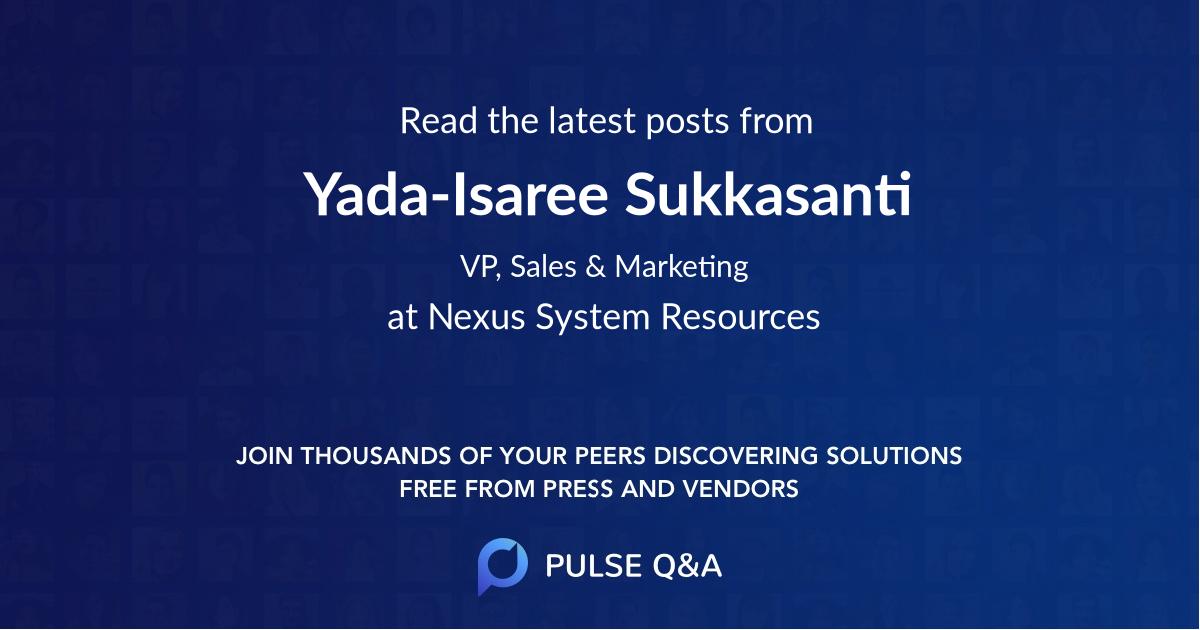Yada-Isaree Sukkasanti