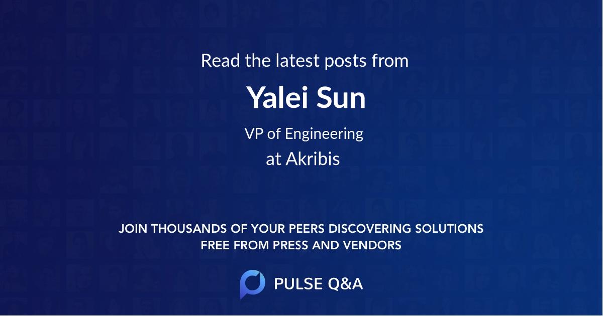 Yalei Sun