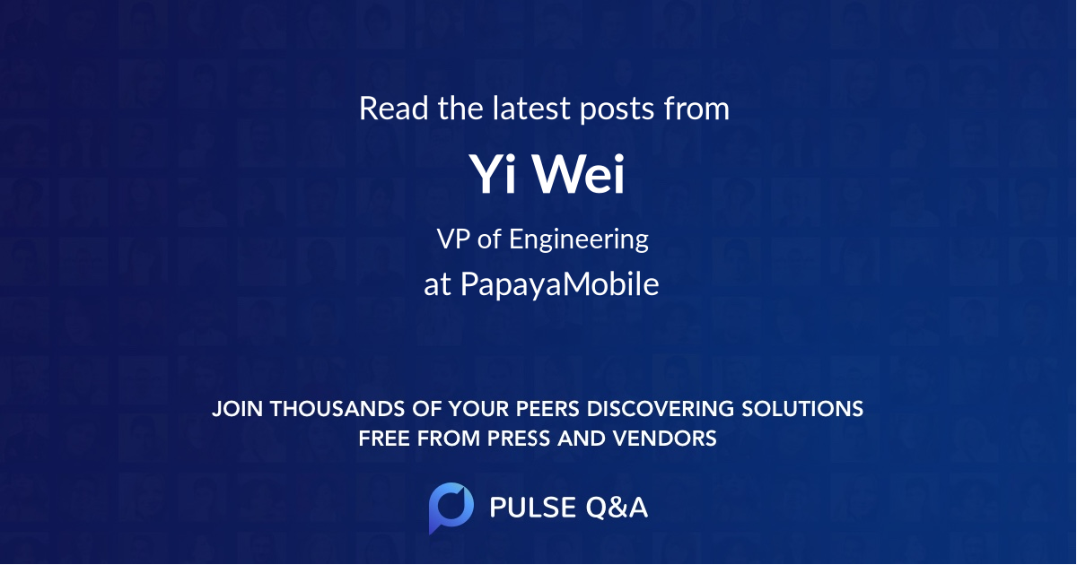 Yi Wei