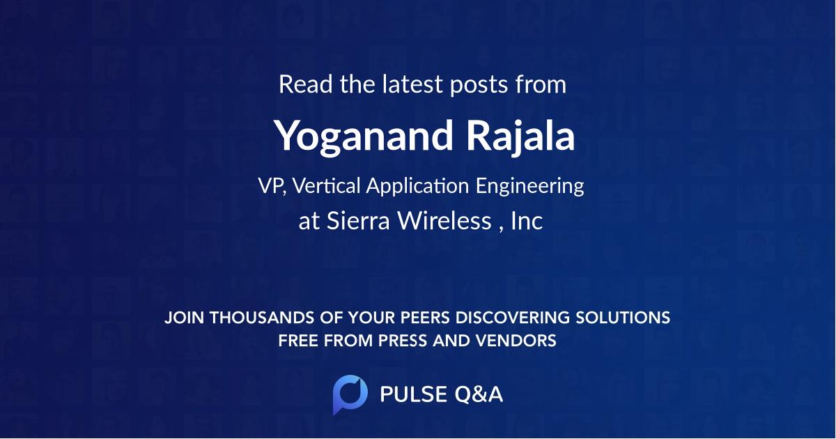Yoganand Rajala