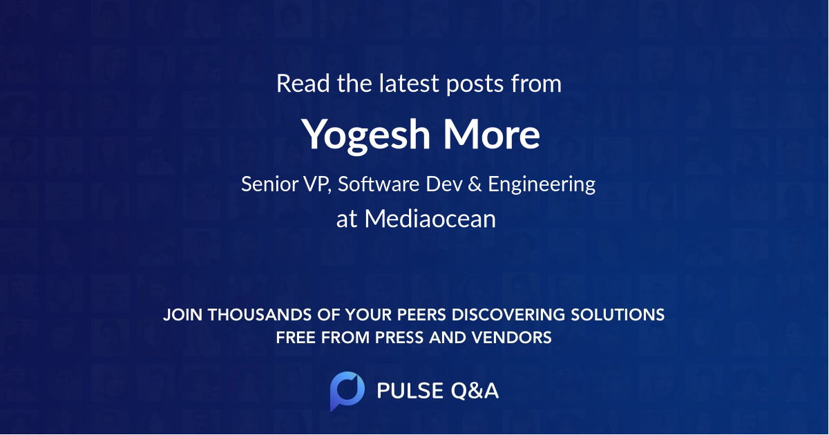 Yogesh More