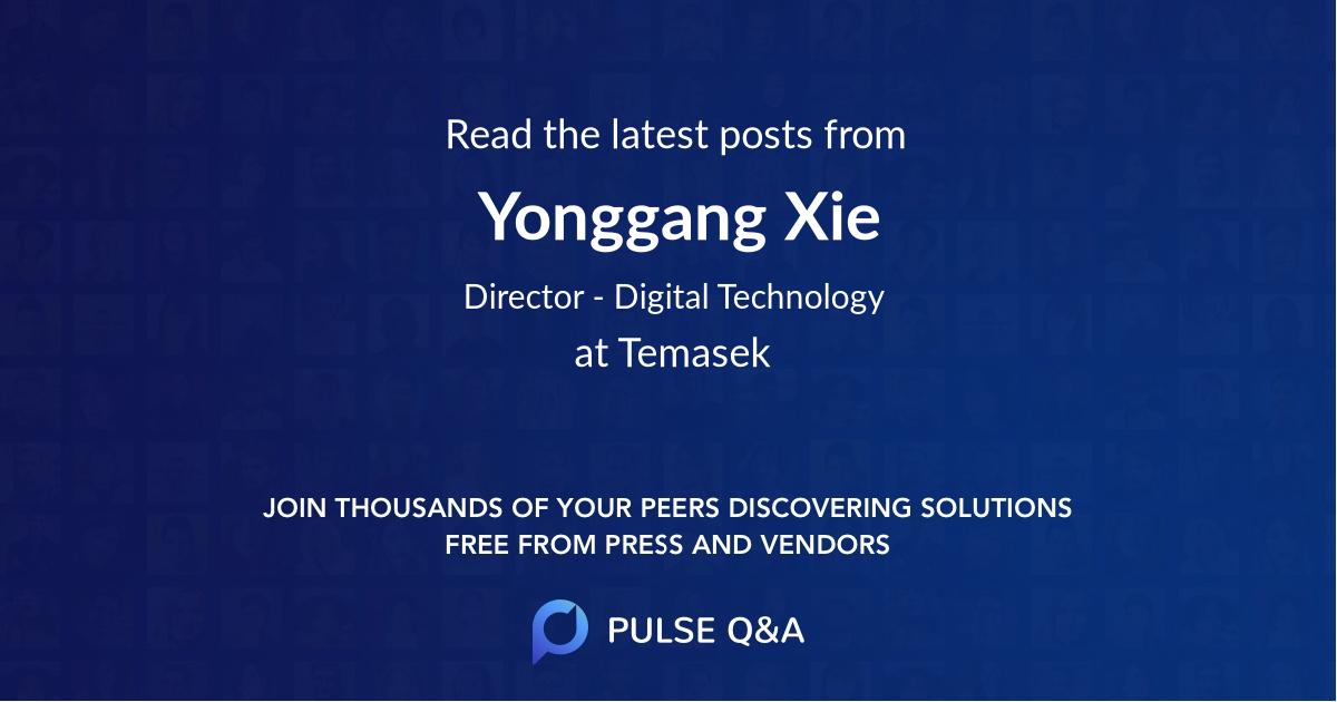 Yonggang Xie