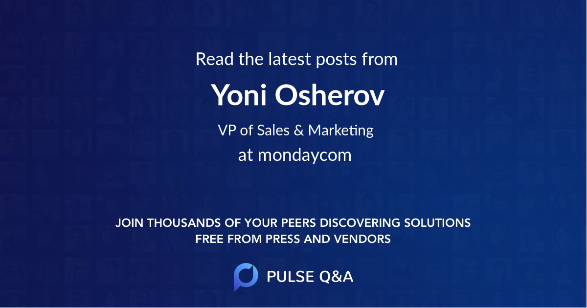 Yoni Osherov