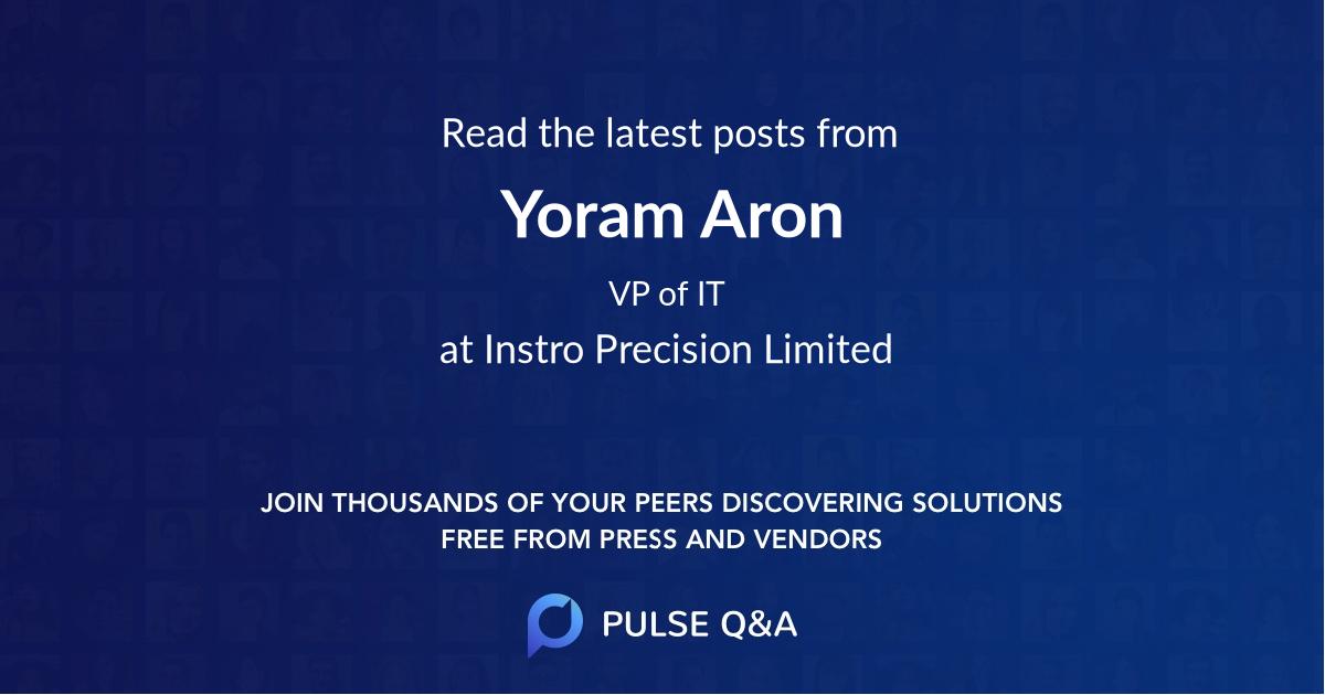 Yoram Aron