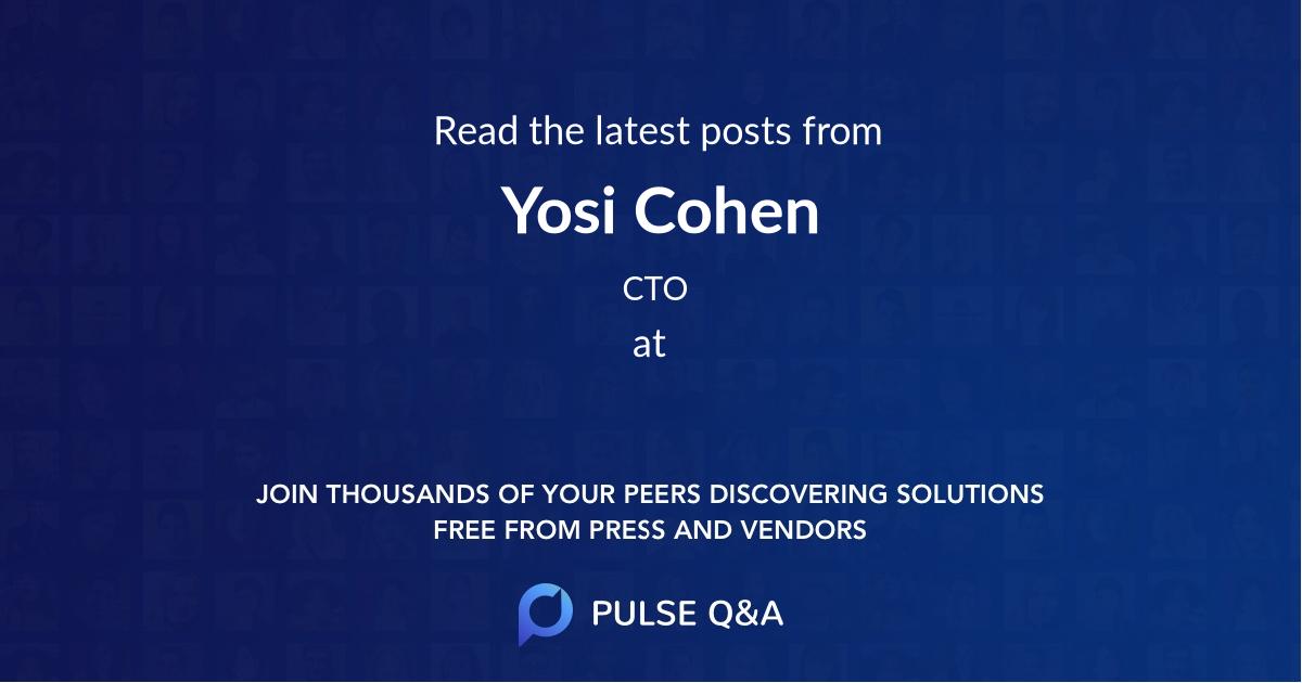 Yosi Cohen