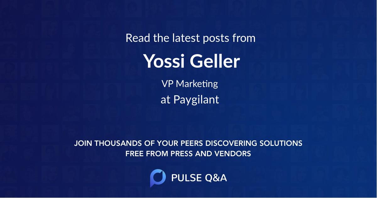 Yossi Geller