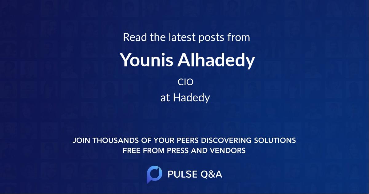 Younis Alhadedy