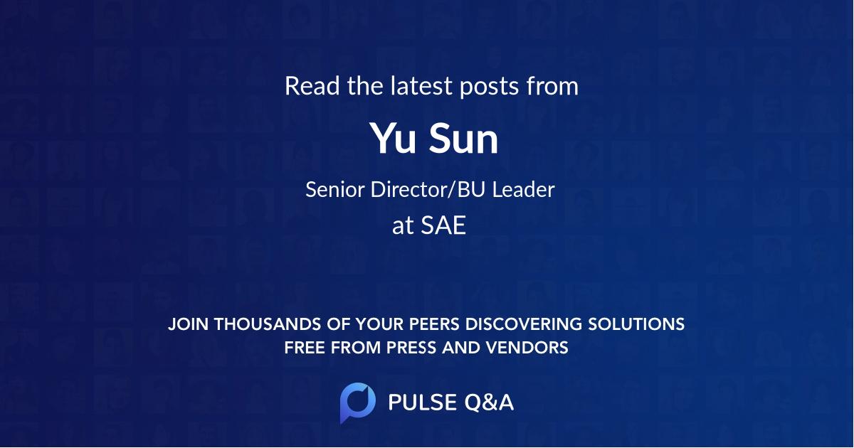 Yu Sun
