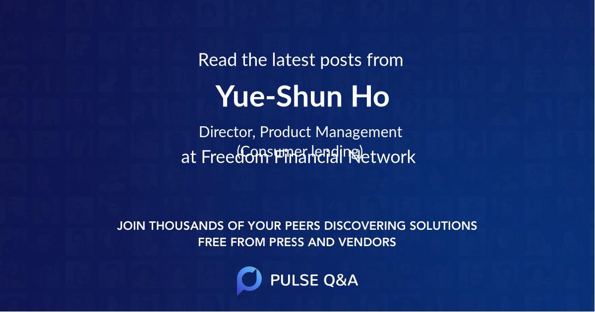 Yue-Shun Ho