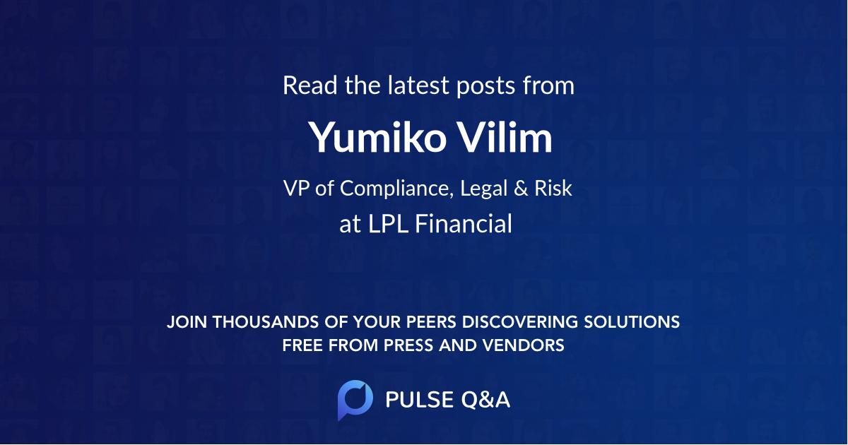 Yumiko Vilim