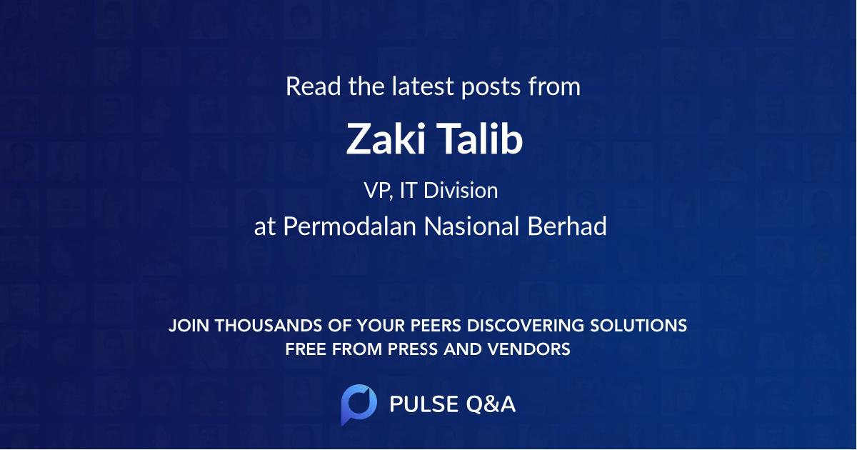 Zaki Talib