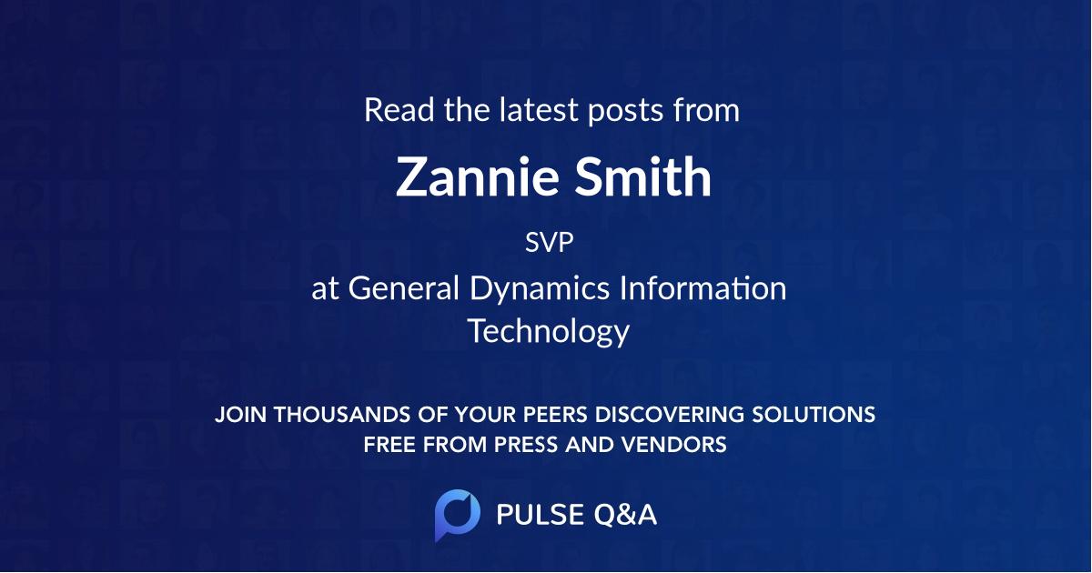 Zannie Smith