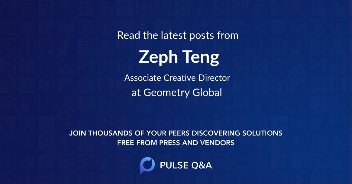 Zeph Teng
