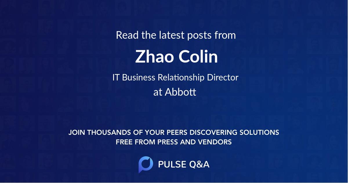 Zhao Colin