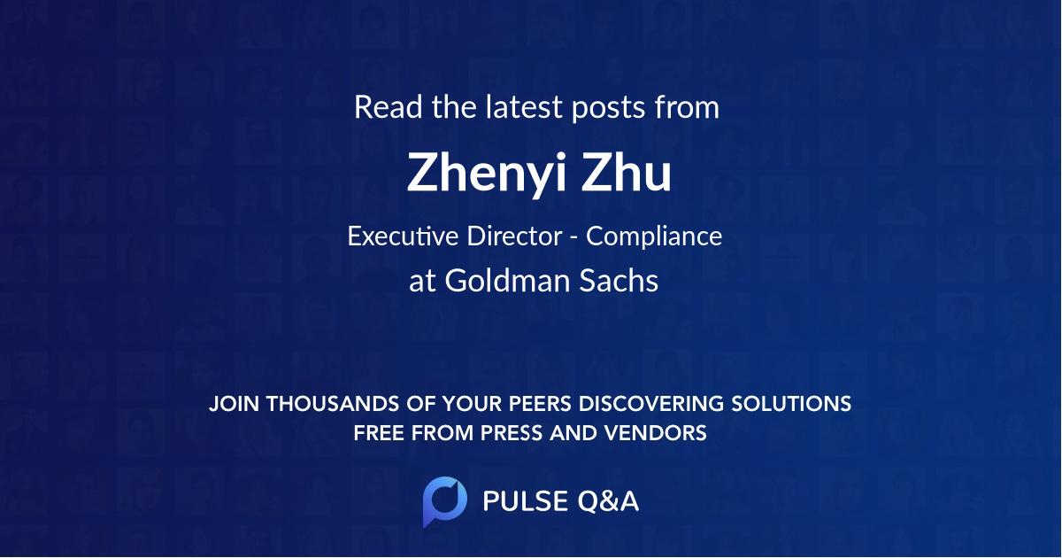 Zhenyi Zhu