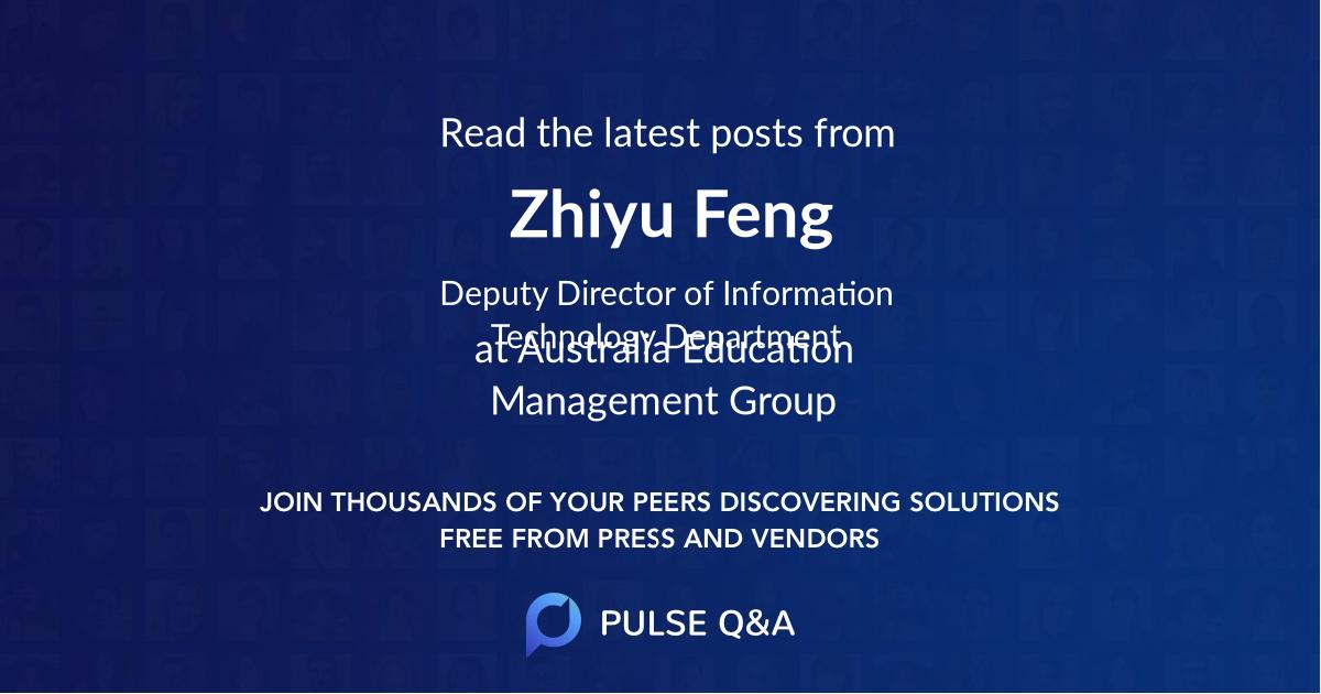 Zhiyu Feng