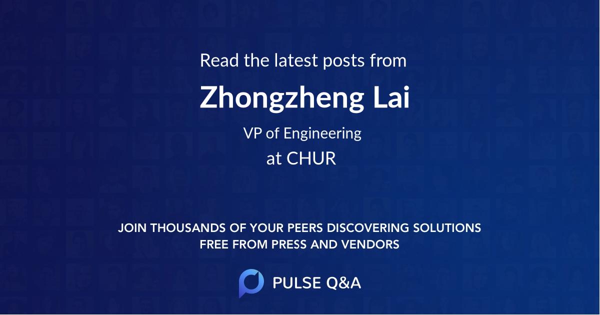 Zhongzheng Lai