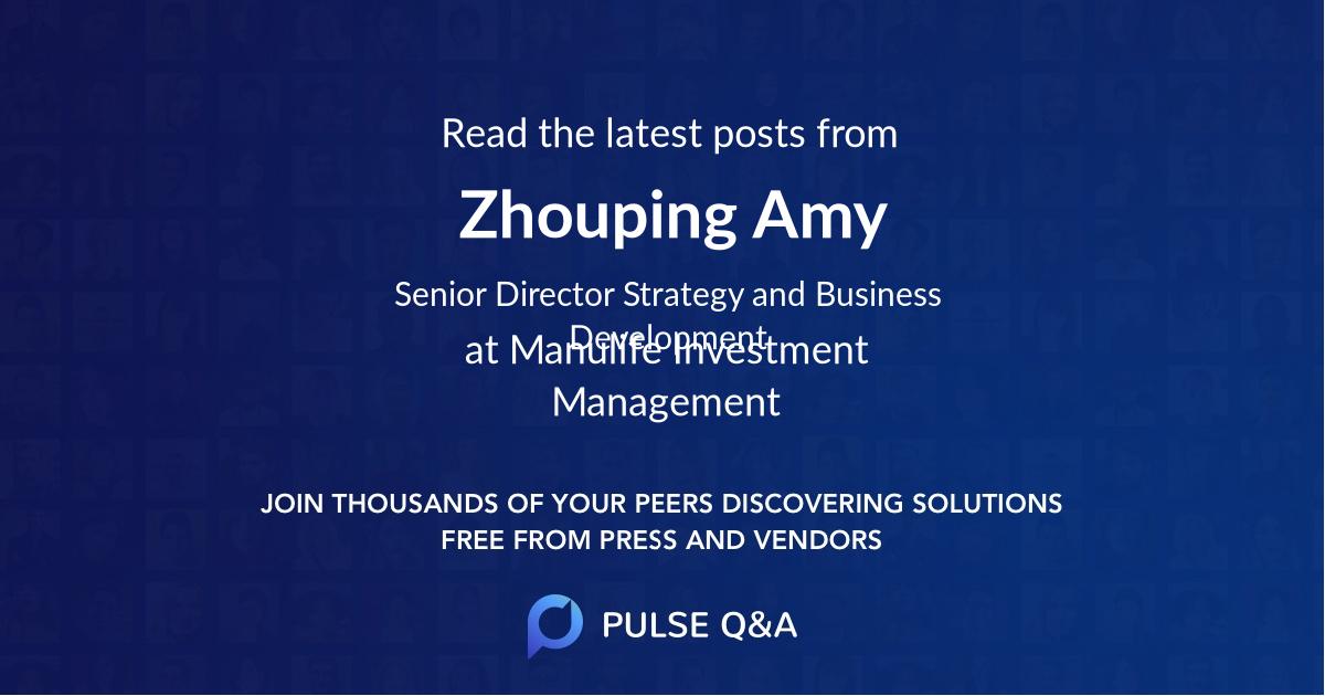Zhouping Amy