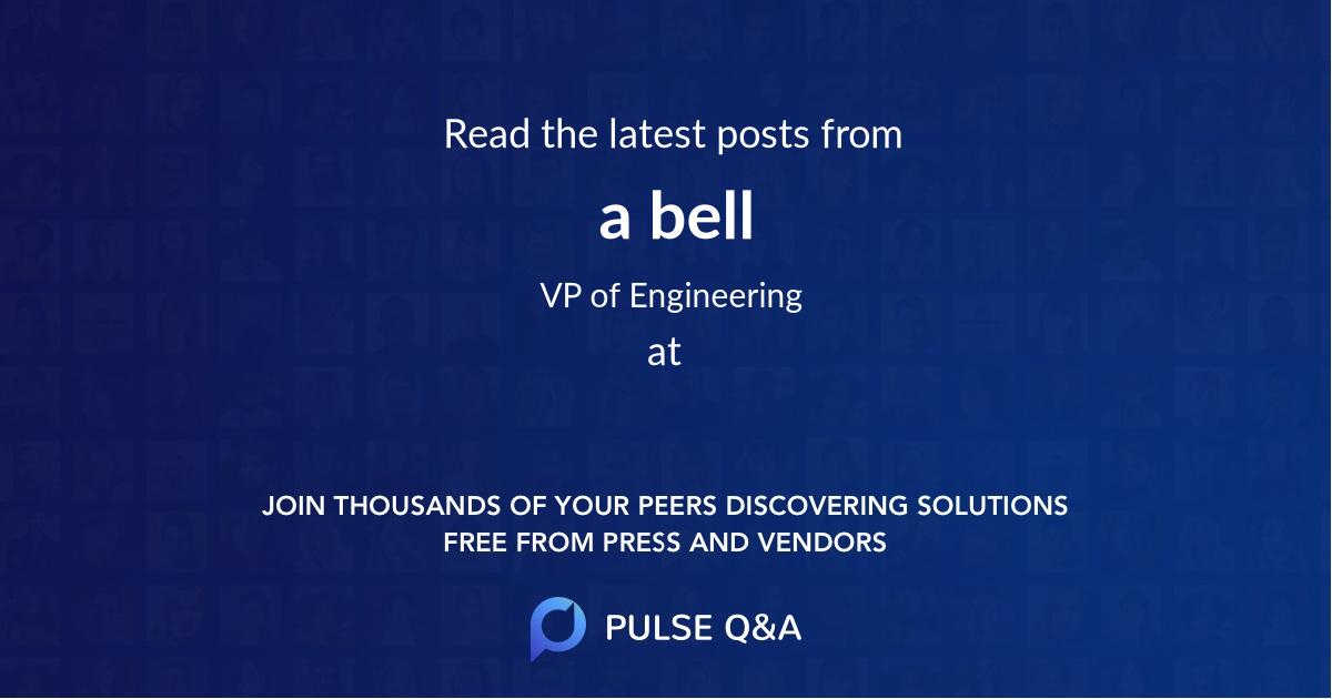 a bell
