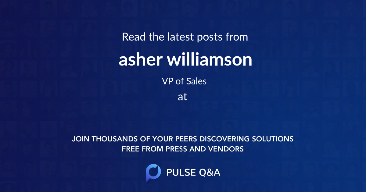 asher williamson
