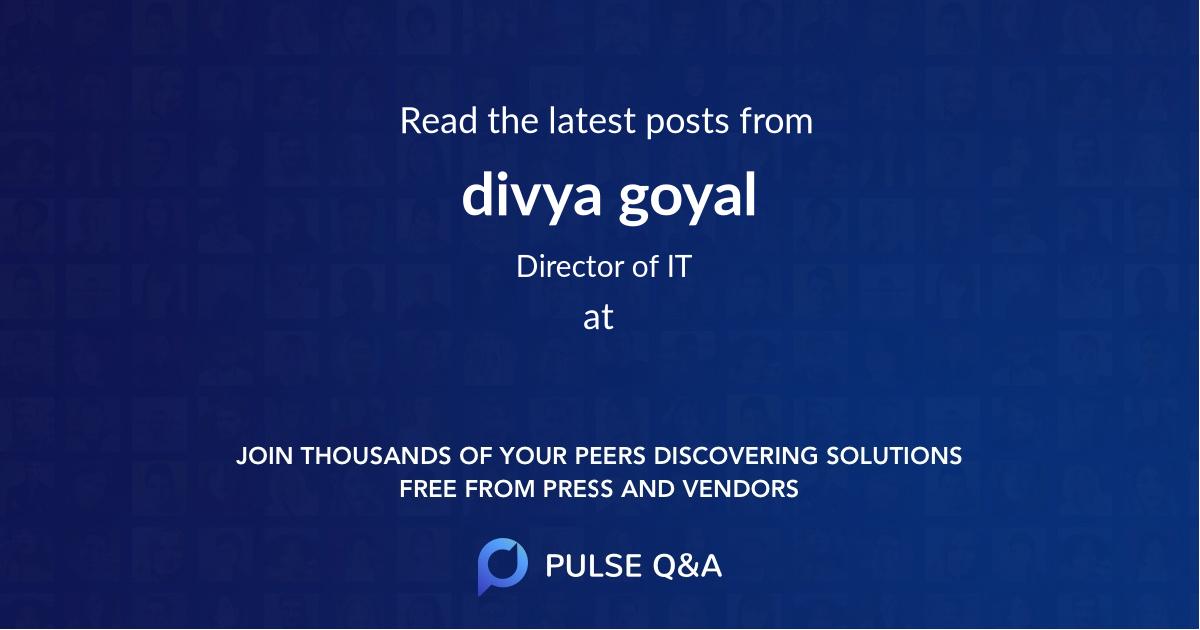 divya goyal