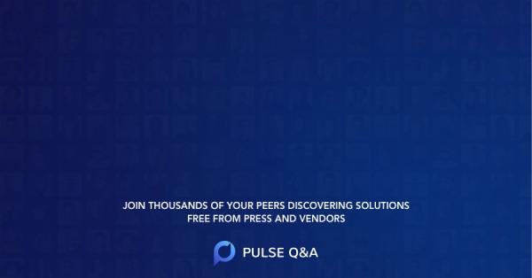Applications Vendor Landscapes
